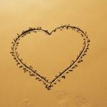 Herz im Sand - Foto: buckgrounds Pierre Buck